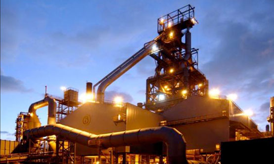 Efficient and reliable handling of GBFS and  GGBFS at grinding plants and cement works